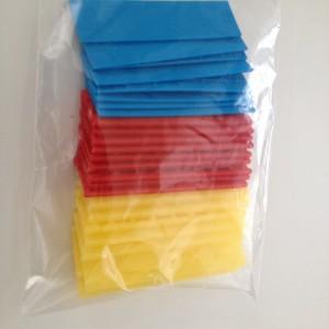Kunststof stelblokjes 30 stuks - Hoe u stuks scheidt ...